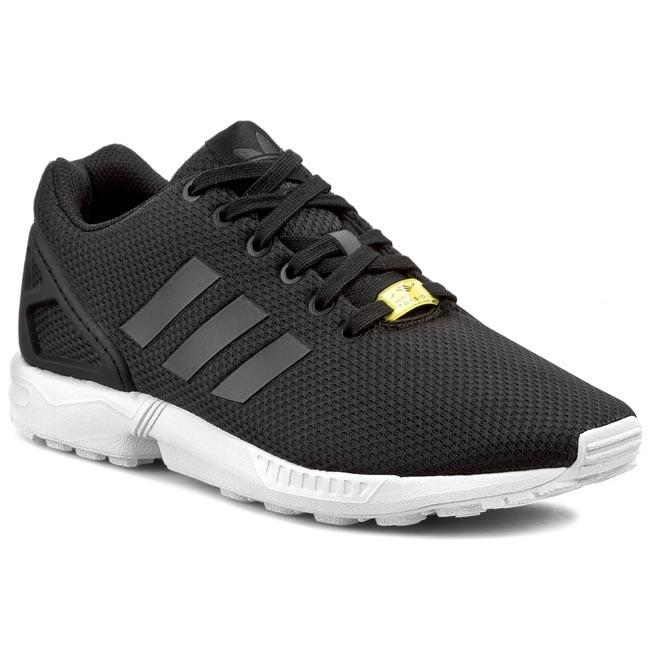 Topánky adidas - ZX Flux M19840  Black1/White