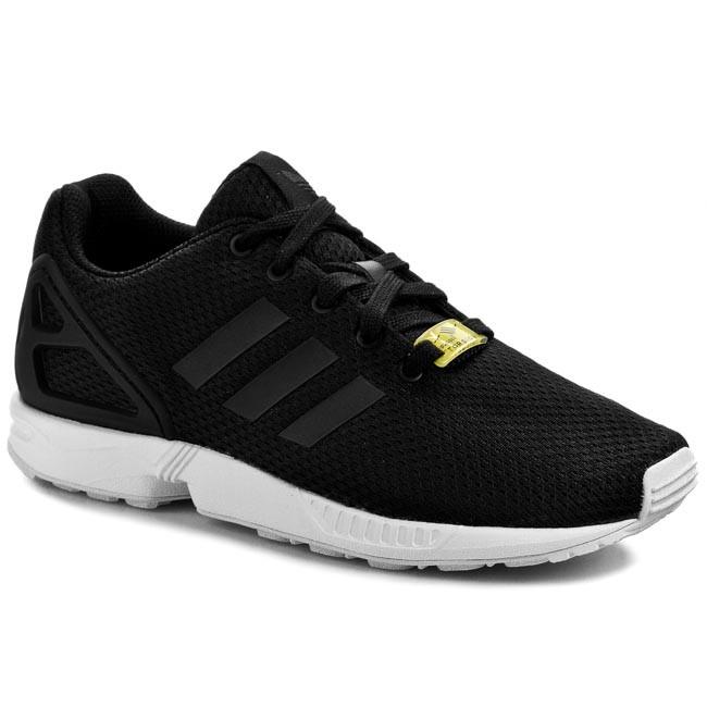 Topánky adidas - Zx Flux K M21294  Black/FTWWhite