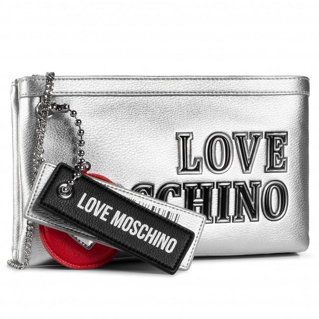 Kabelka LOVE MOSCHINO - JC4237PP0BKG0902 Argento