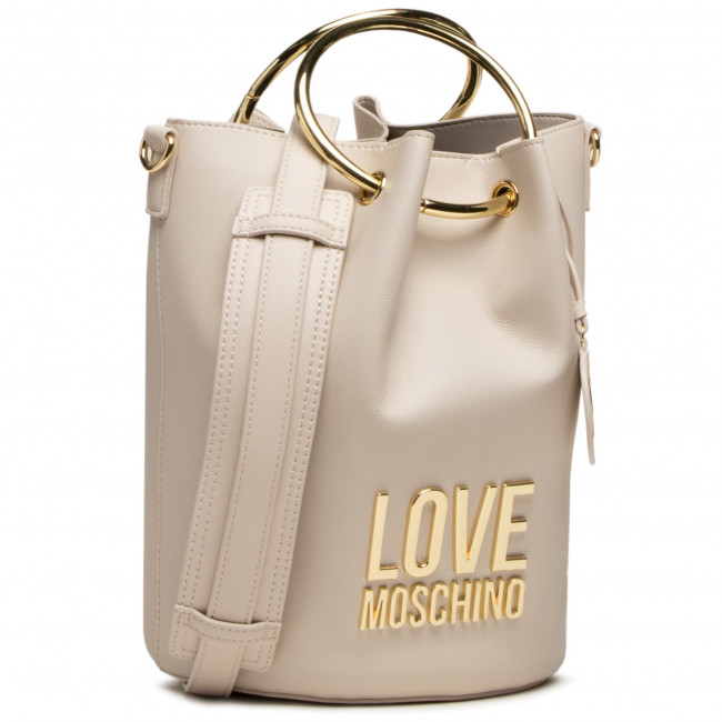 Kabelka LOVE MOSCHINO - JC4105PP1CLJ010A Avorio