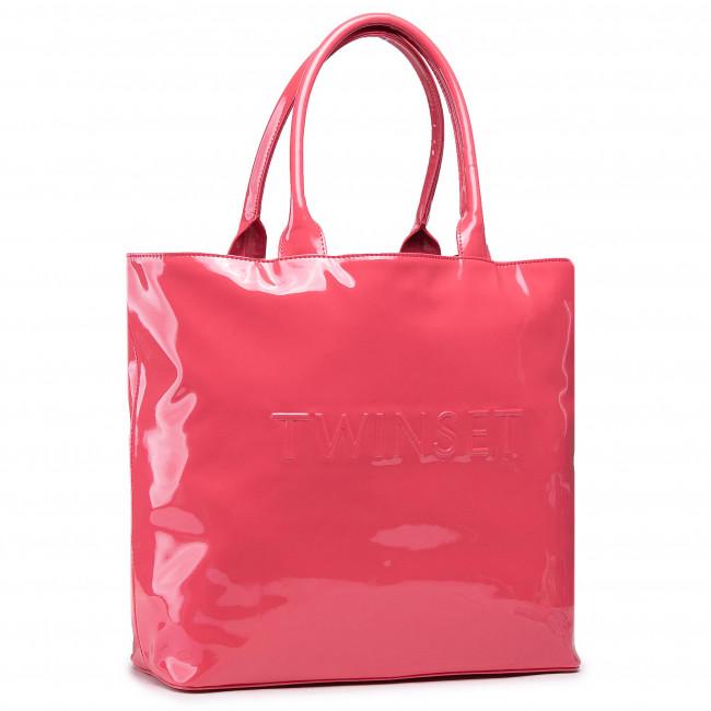 Kabelka TWINSET - Shopping 211LM7ZQQ  Cherry Pink 05843