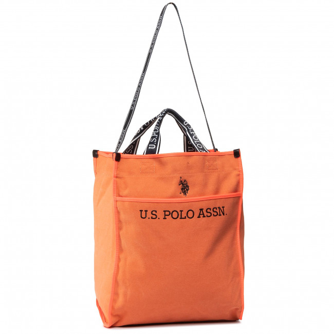 Kabelka U.S. POLO ASSN. - Halifax M Shopping Bag BEUHX2832WUY/301 Orange