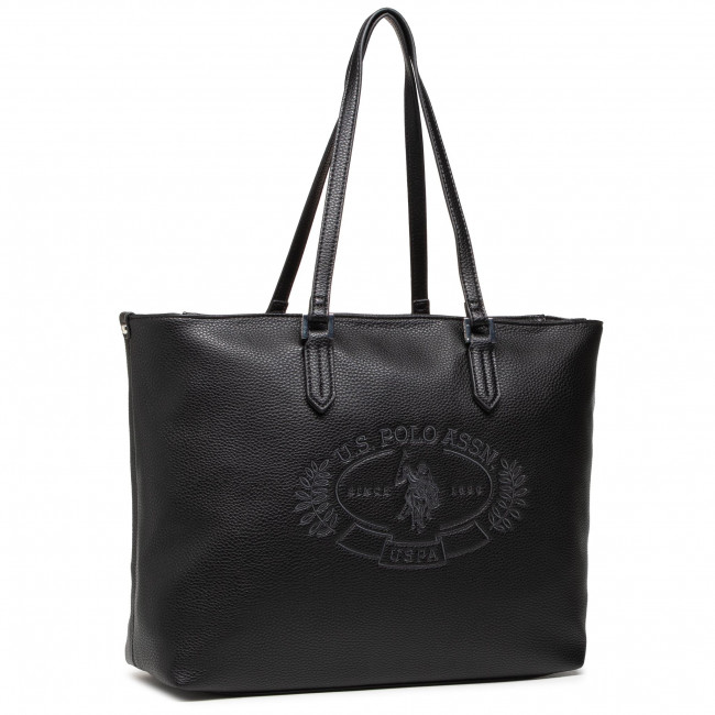 Kabelka U.S. POLO ASSN. - New Hailey Shopping BEUHF5157WVP000 Black
