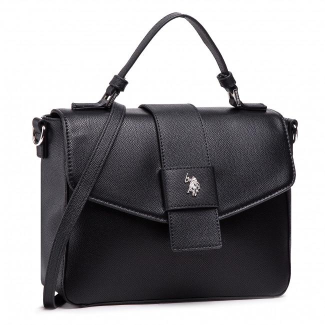 Kabelka U.S. POLO ASSN. - Jones Flap Handle Bag BEUJE5126WVP000  Black