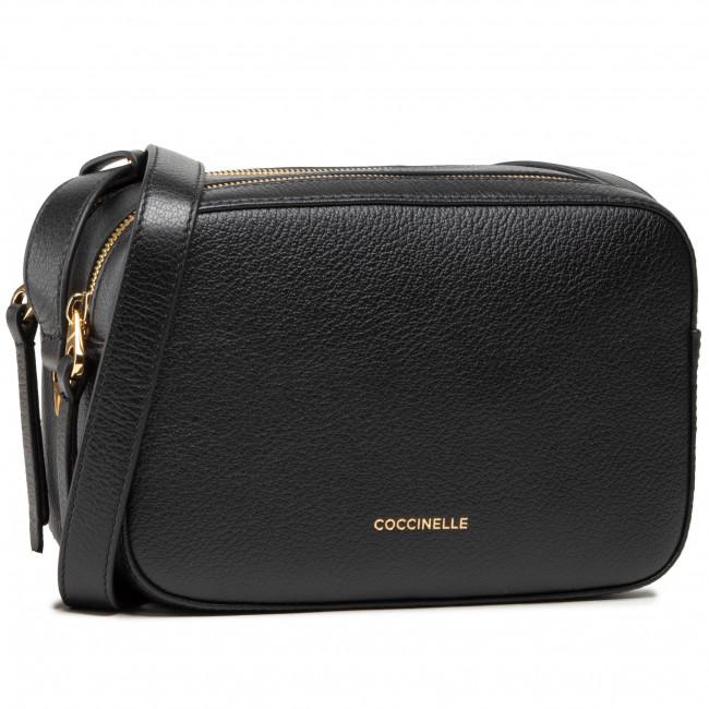 Kabelka COCCINELLE - H6 Lea E1 H60 15 02 01 Noir 001