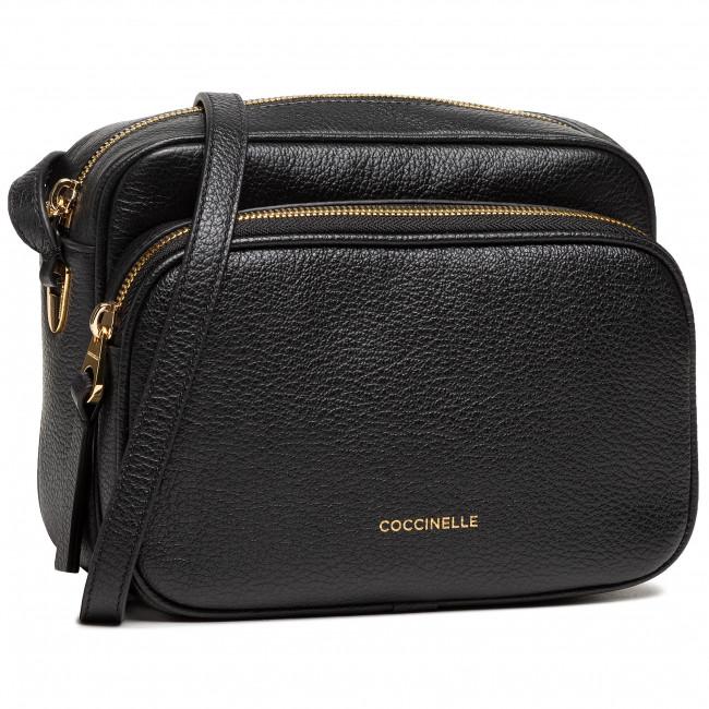 Kabelka COCCINELLE - H60 Lea E1 H60 15 01 01 Noir 001