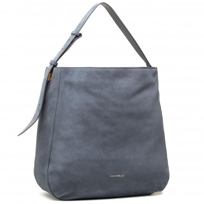 Kabelka COCCINELLE - H62 Lea Suede E1 H62 13 02 01 Ash Grey Y75