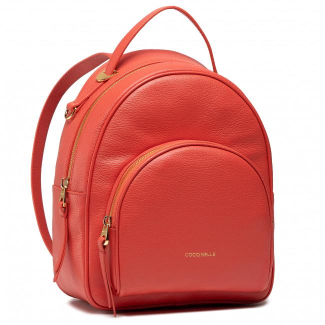 Ruksak COCCINELLE - H60 Lea E1 H60 14 01 01 Coral Red R34