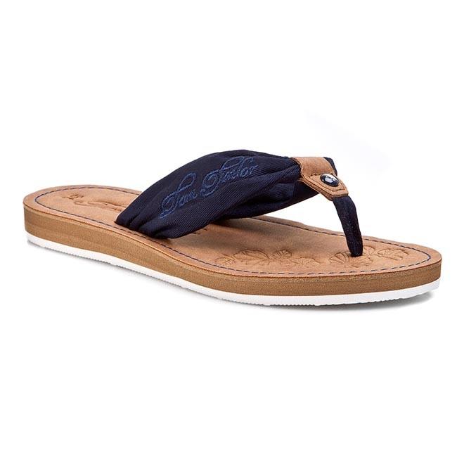 e8836eb4e Žabky TOM TAILOR - 759160200 Navy - Žabky - Šľapky a sandále ...