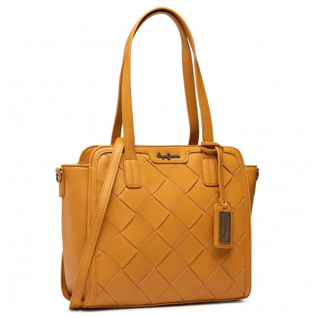 Kabelka PEPE JEANS - Cutouts Handbag PL031224 Light Brown 868