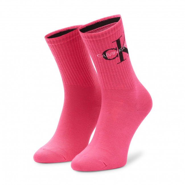 Ponožky Vysoké Dámske CALVIN KLEIN JEANS - 100001760 Magenta 008
