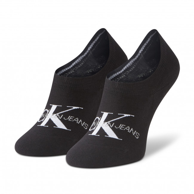 Ponožky Krátke Dámske CALVIN KLEIN JEANS - 100001769 Black 001