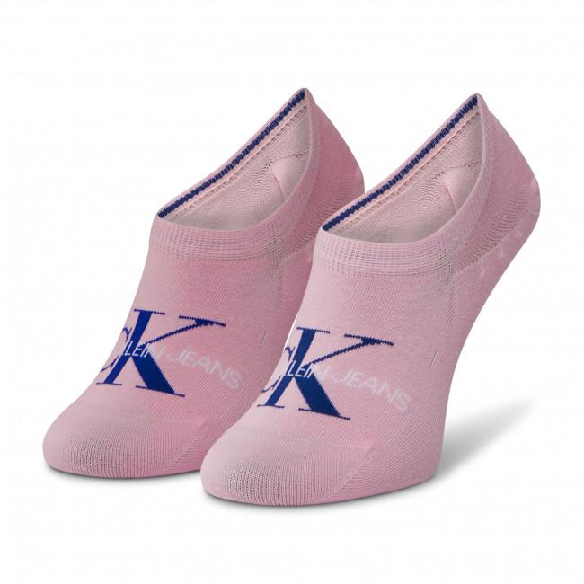 Ponožky Krátke Dámske CALVIN KLEIN JEANS - 100001769 Pink 004