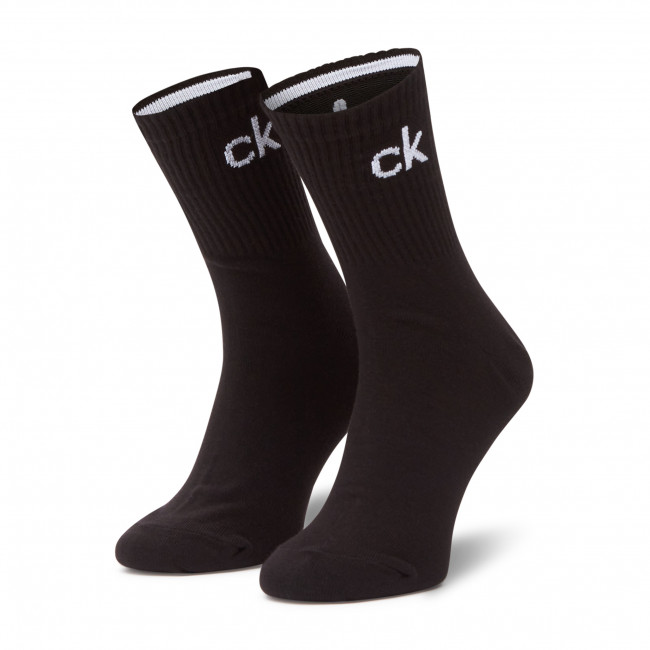 Ponožky Vysoké Dámske CALVIN KLEIN - 100001786  Black 001