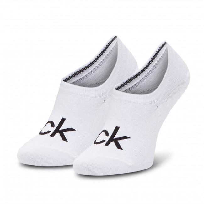 Ponožky Krátke Dámske CALVIN KLEIN - 100001788 White 002