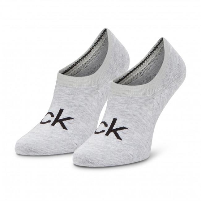 Ponožky Krátke Dámske CALVIN KLEIN - 100001788 Grey 004