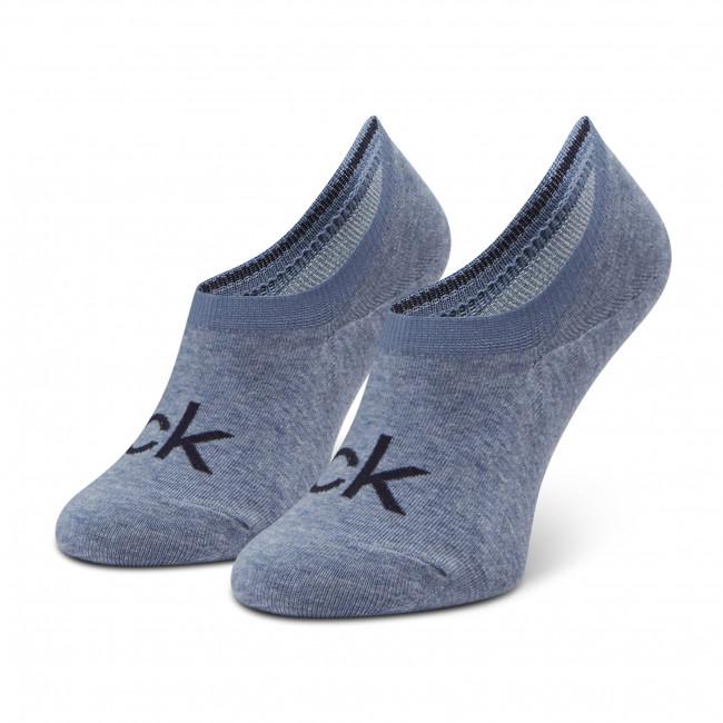 Ponožky Krátke Dámske CALVIN KLEIN - 100001788 r.OS Blue 006