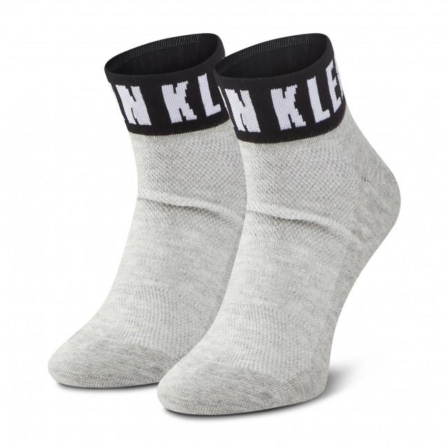 Ponožky Vysoké Dámske CALVIN KLEIN - 100001813 Light Grey Melange 003
