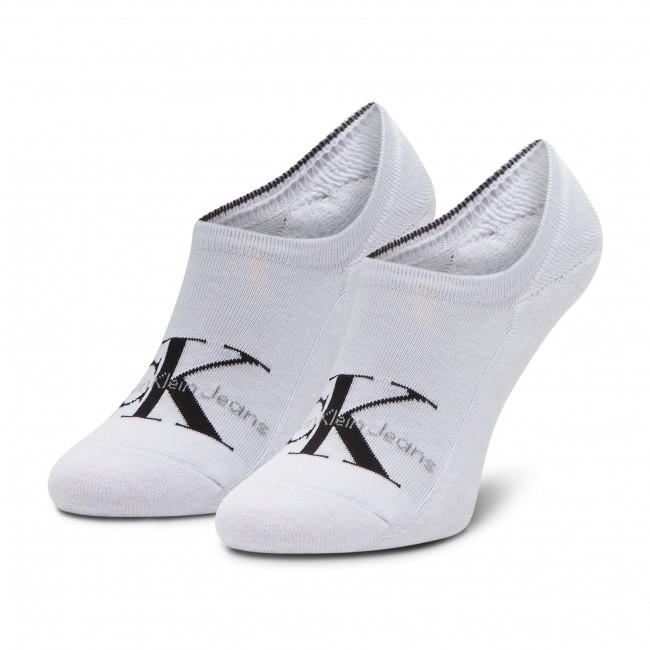 Ponožky Krátke Pánske CALVIN KLEIN JEANS - 100001869 White 001