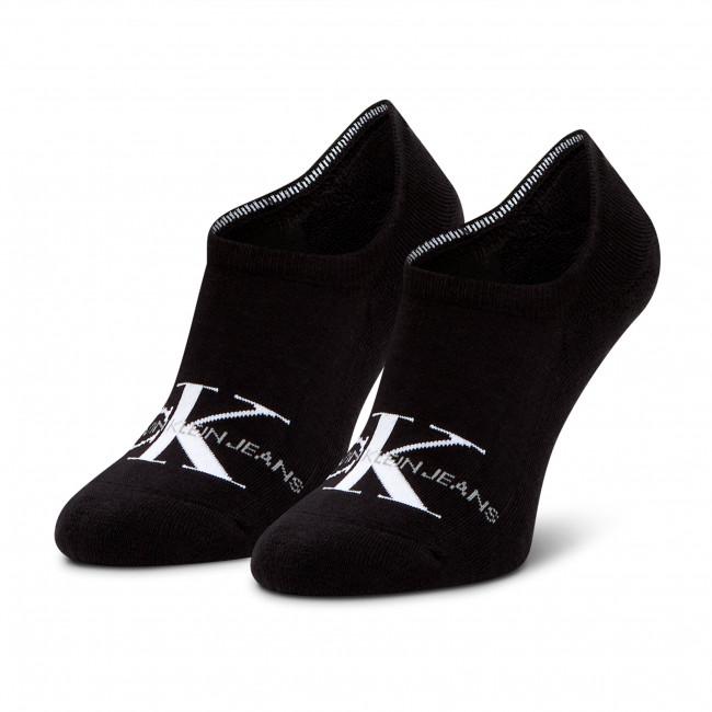 Ponožky Krátke Pánske CALVIN KLEIN JEANS - 100001869 Black 002