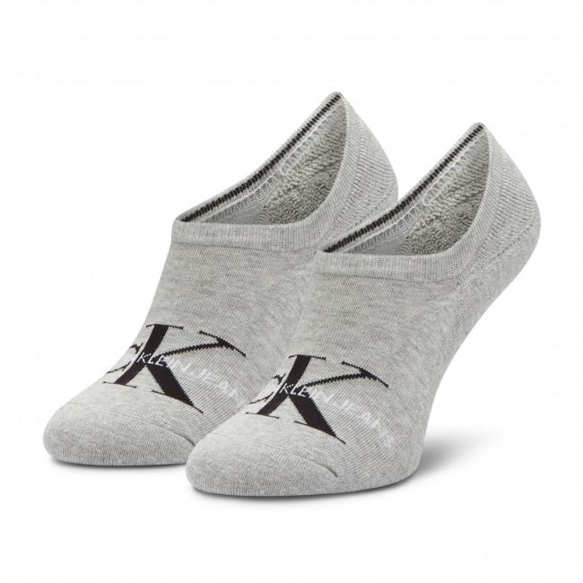 Ponožky Krátke Pánske CALVIN KLEIN JEANS - 100001869 Light Grey Melange 003