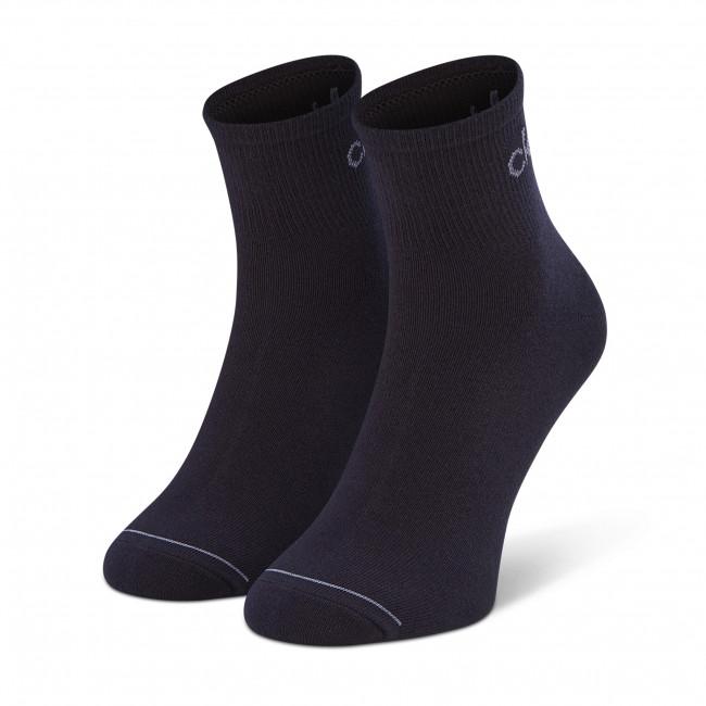 Súprava 3 párov vysokých ponožiek pánskych CALVIN KLEIN - 100001889 r.OS Navy 003