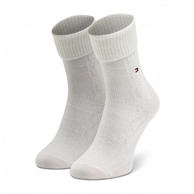 Ponožky Vysoké Dámske TOMMY HILFIGER - 100000859  Off White 002