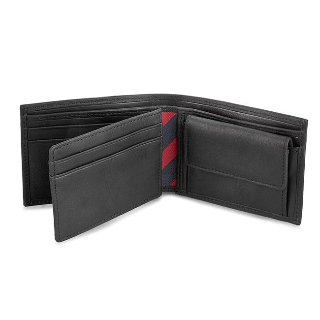 7667f8602 Veľká Peňaženka Pánska TOMMY HILFIGER - Johnson Mini Cc Flap And Coin Pocket  AM0AM00662/82568