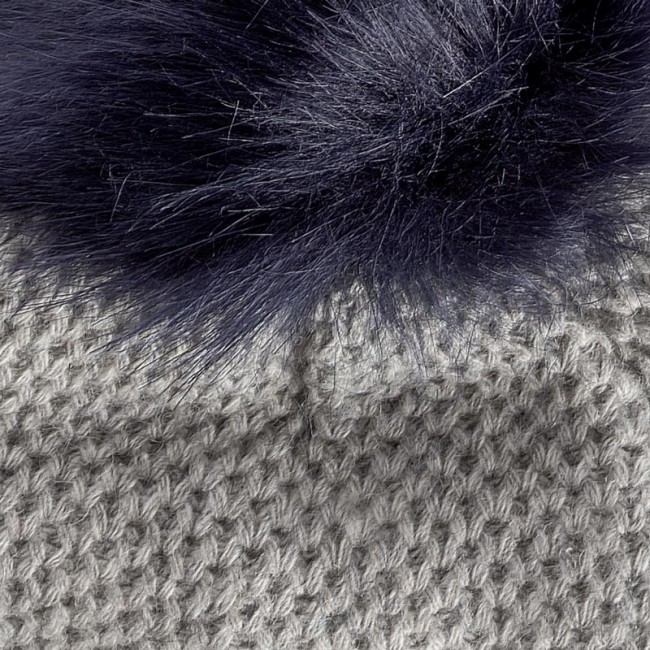 84092e926 Čiapka dámska TOMMY HILFIGER - Fur Pompom Beanie AW0AW04374 013 ...
