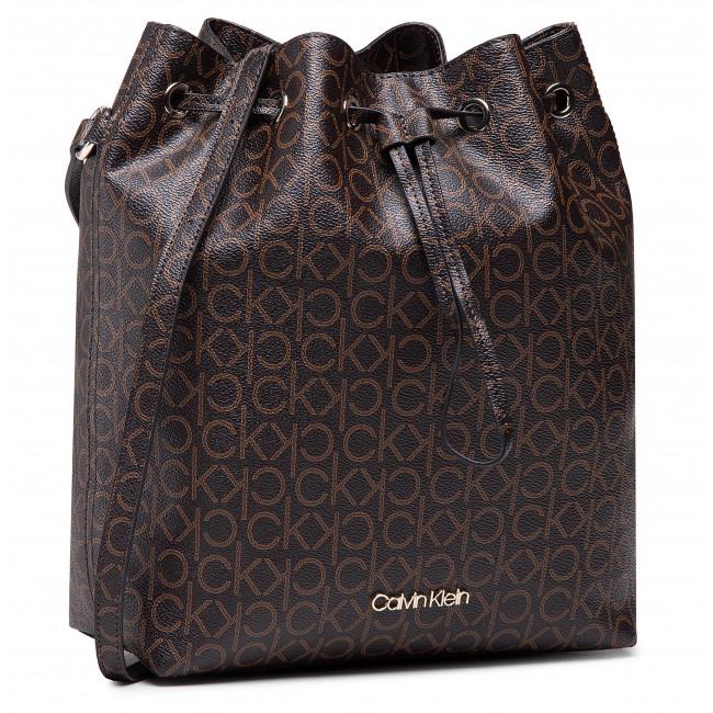 Kabelka CALVIN KLEIN - Drawstring Bucket Bag Monogram  K60K606477 0HD