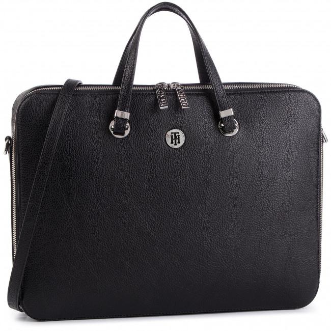 a856ef633 Taška na Laptop TOMMY HILFIGER - The Core Computer Bag AW0AW06424 002