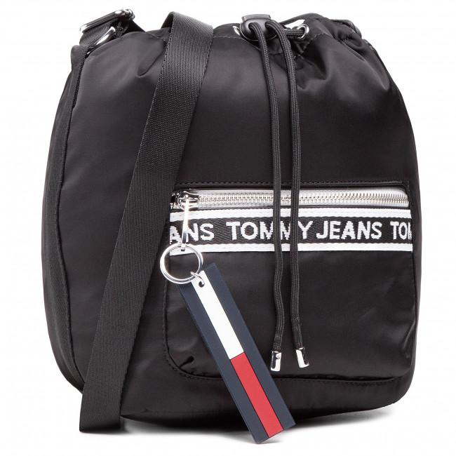 Kabelka TOMMY JEANS - Tjw Mini Logo Tape Bucket AW0AW09894 BDS