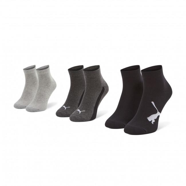 Súprava 3 párov kotníkových ponožiek detských PUMA - 907961 01 Black
