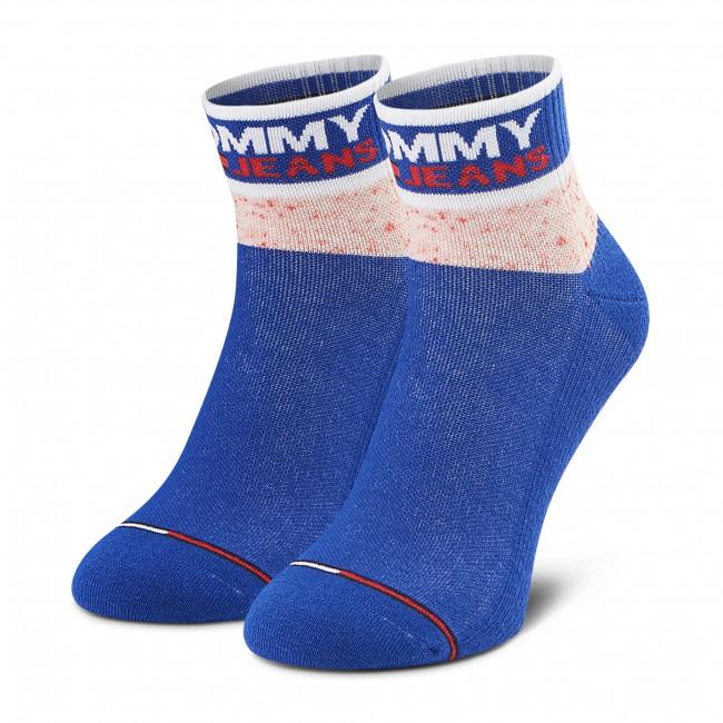 Ponožky Vysoké Dámske TOMMY JEANS - 100002403 Dark Blue 003