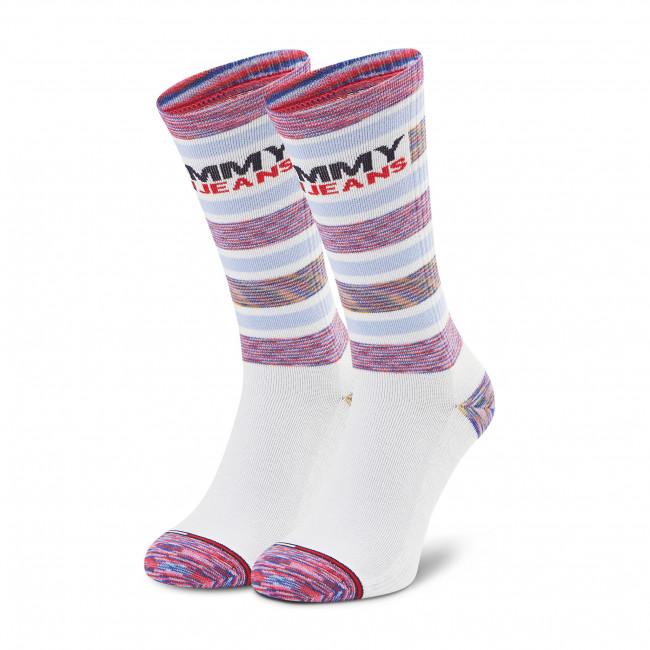 Ponožky Kotníkové Unisex TOMMY JEANS - 100002404 White 001