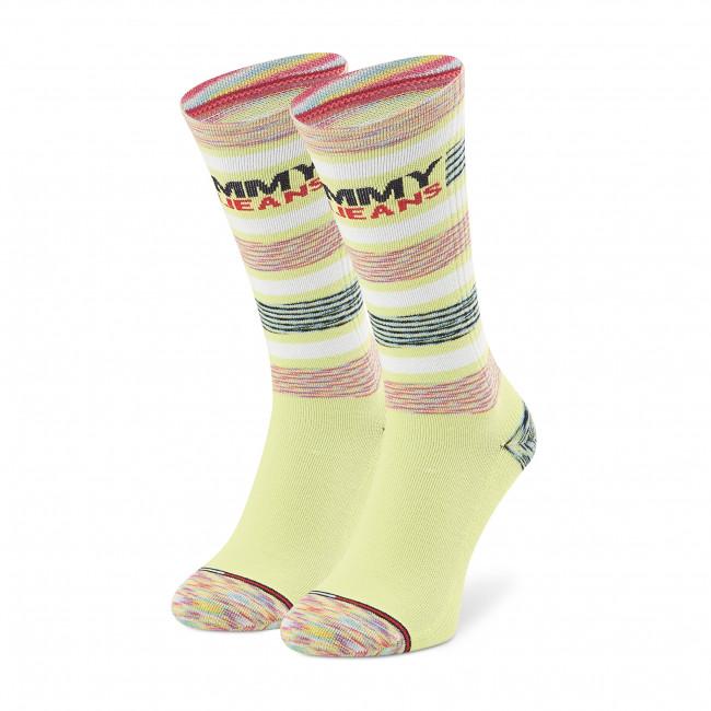 Ponožky Vysoké Unisex TOMMY JEANS - 100002404 Lime 002