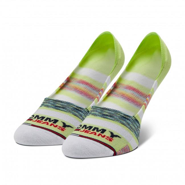 Ponožky Krátke Unisex TOMMY JEANS - 100002406 Lime 002
