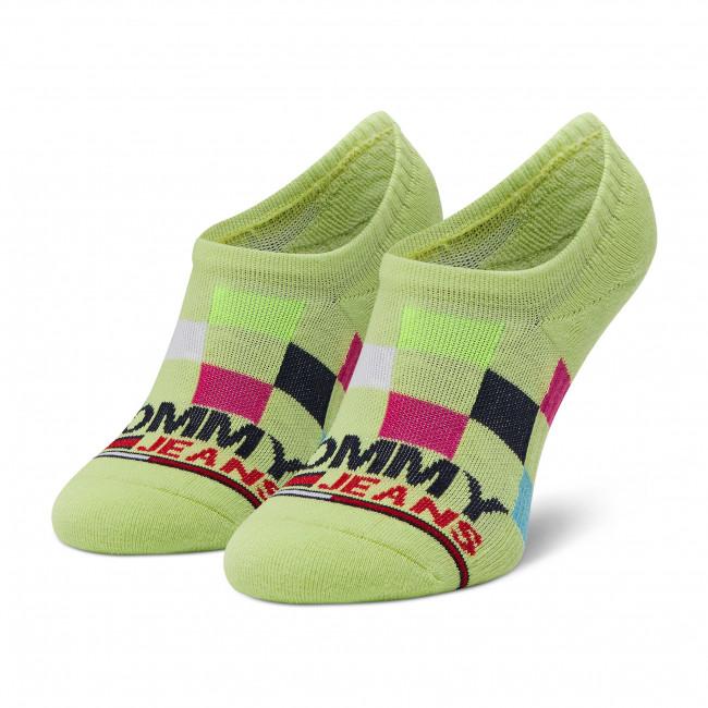 Ponožky Krátke Unisex TOMMY JEANS - 100002409 Lime 002