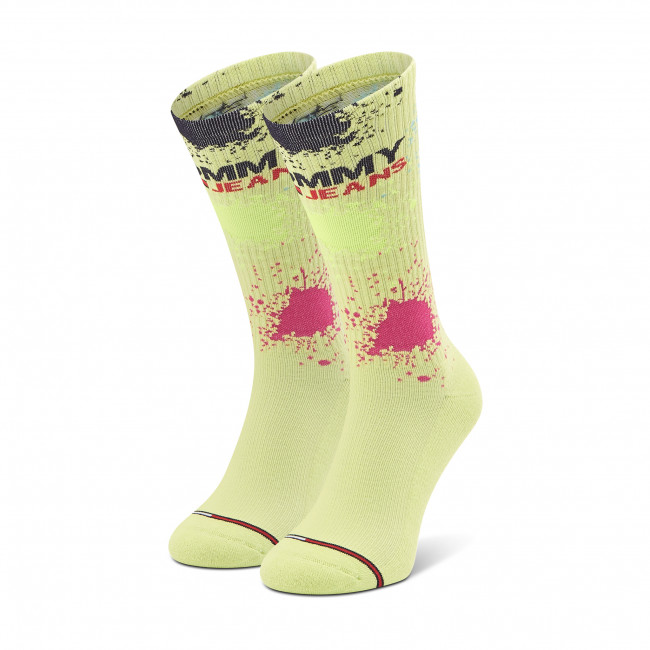 Ponožky Vysoké Unisex TOMMY JEANS - 100002820 Lime 002