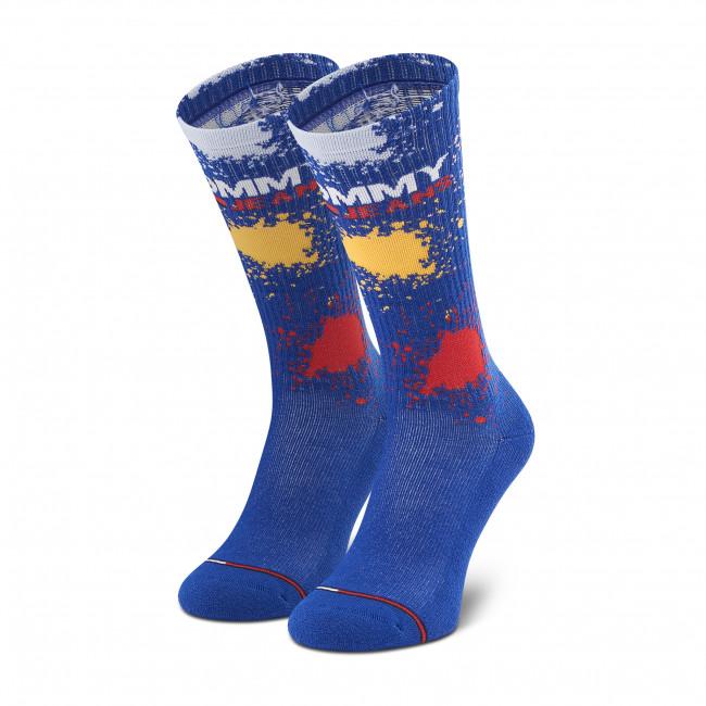 Ponožky Vysoké Unisex TOMMY JEANS - 100002820 Dark Blue 003