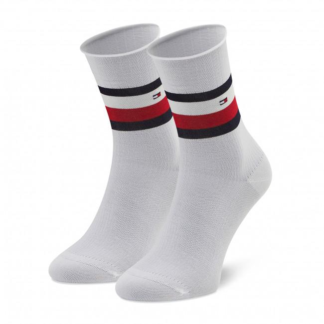 Ponožky Vysoké Dámske TOMMY HILFIGER - 100002393 White 001