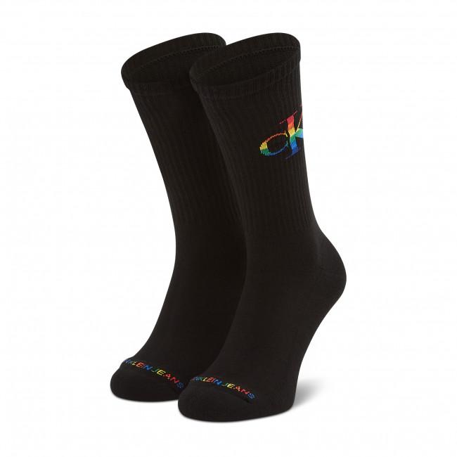Ponožky Vysoké Pánske CALVIN KLEIN JEANS - 100002998 r.OS Black 001