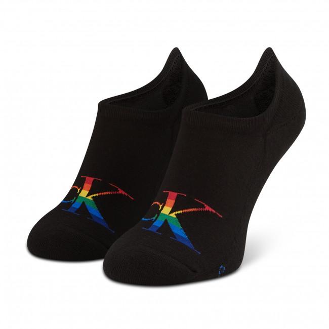 Ponožky Krátke Pánske CALVIN KLEIN JEANS - 100002999 r.OS Black 001