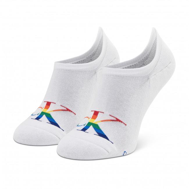 Ponožky Krátke Pánske CALVIN KLEIN JEANS - 100002999 r.OS White 002