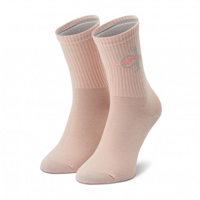 Ponožky Vysoké Dámske CALVIN KLEIN JEANS - 100001760 r.OS Rose Dust 011