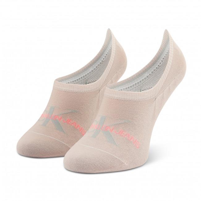 Ponožky Krátke Dámske CALVIN KLEIN JEANS - 100001769 r.OS Rose Dust 009