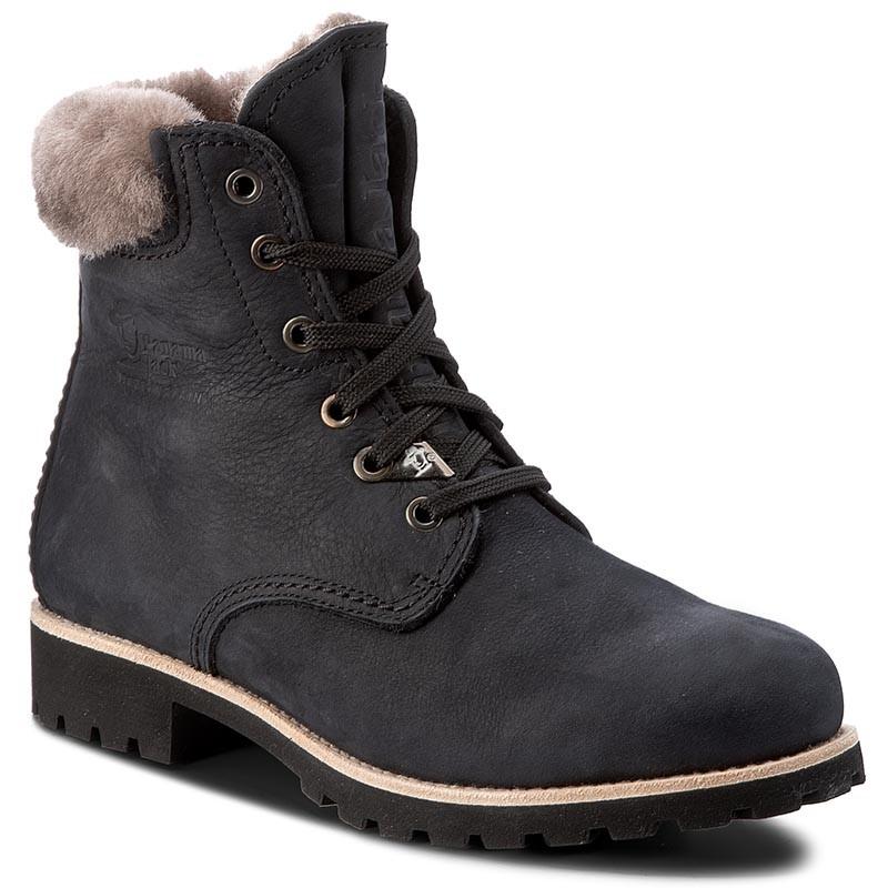 Outdoorová obuv PANAMA JACK - Panama 03 Igloo B21 Nobuck Negro Black c79767220fd
