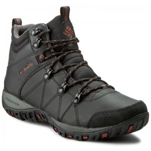 93acd984192 Trekingová obuv COLUMBIA - Peakfreak Venture Mid Waterproof BM3991 Black Sanguine  010