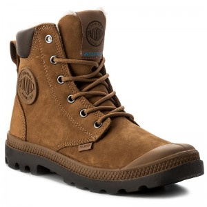 Outdoorová obuv PALLADIUM - Pampa Sport Cuff WPS 72992-697-M  Mahogany Chocolate d0c2b2b0b3