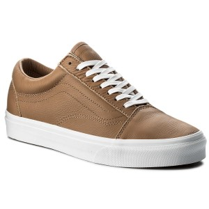 Tenisky VANS Old Skool VN0A38G1R0S (Leather) Tawny Brown True White ad0c429db9e